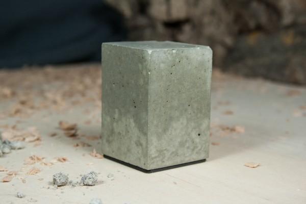Sockel 40x40mm Beton (55mm Höhe)