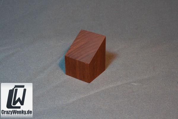 Holzsockel 40x40mm (Büste) Mahagoni