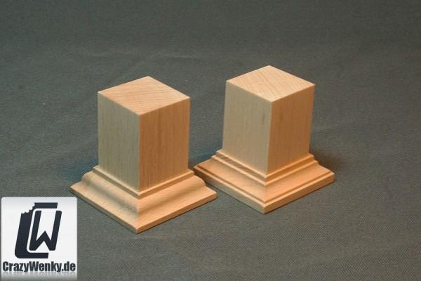 Holzsockel 30x30mm (55mm Höhe)