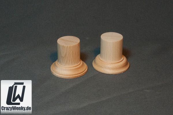 Holzsockel Rund Ø30mm (45mm Höhe)