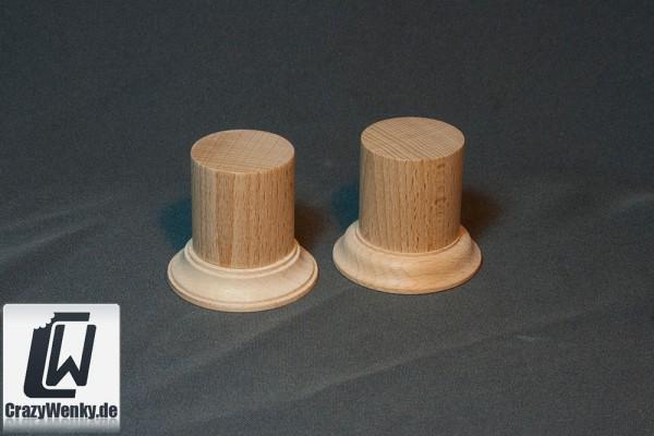 Holzsockel Rund Ø40mm (55mm Höhe)