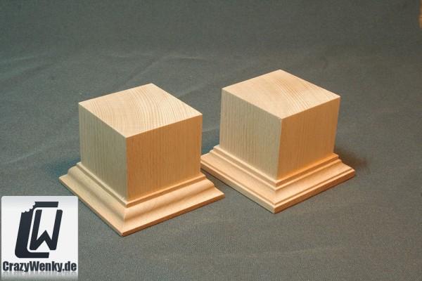 Holzsockel 50x50mm (55mm Höhe)